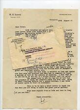Anglo China Trading Co E.J.Lloyd letter  to Canada Consul 1948 Shanghai China