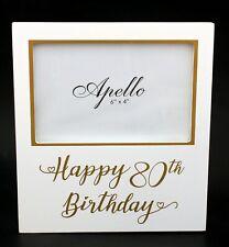 80th Birthday Photo Frame Female/Male birthday gift present Keepsake