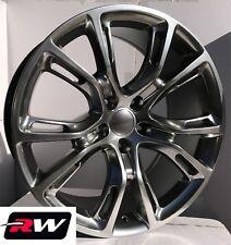 "20"" RW Wheels for Dodge Durango 20x9"" Hyper Silver Spider Monkey Style Rims"