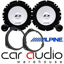 BMW X5 E53 2000-2006 16cm Alpine 560 Watts Front Door Car Speakers Component Kit