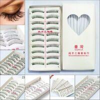 10Pairs New Makeup Handmade Natural Fashion Long False Eyelashes Eye Lashes 09