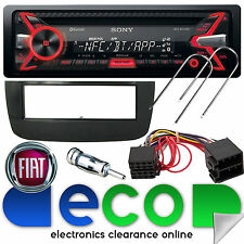 Fiat Punto EVO Sony 55 x 4W CD MP3 USB Bluetooth Car Radio Stereo Fitting Kit