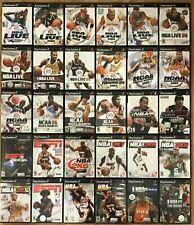 NBA Basketball games (Playstation 2) PS2 TESTED  NBA NCAA