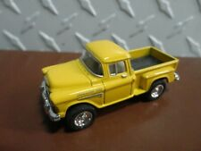 Loose Kinsmart Yellow 1955 Chevy Stepside Pickup w/Rubber Wheels