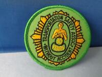 TRANSPORTATION SAFETY ASSOC 30 YEARS WITHOUT ACCIDENT VINTAGE PATCH AWARD