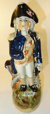 More details for antique staffordshire admiral lord horatio nelson toby jug spill vase c1840 vgc