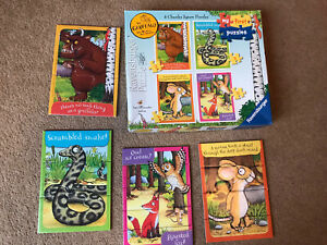Ravensburger The Gruffalo - My First Puzzles Jigsaw Puzzle 4 In a Box