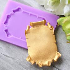 Vinatge Frame Silicone Fondant Mould Cake Decorating Baking Mold Sugarcraft Tool
