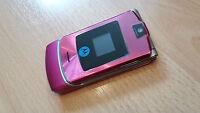Motorola RAZR V3i  in Pink  / foliert / ohne Simlock mit jeder SIM nutzbar...