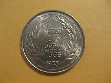 """1973 India coin 50 Paise  """"F.A.O. coin""""  Uncirculated beauty security edge"""