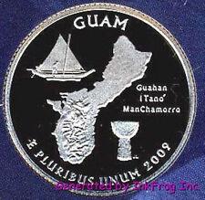 2009 S Clad Guam Deep Cameo Gem Proof No Reserve