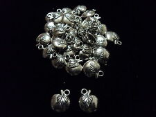 Tibetian Silver Lead Free Pewter Charms/Apple/Fruit