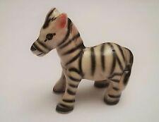 zèbre en céramique, figurine de collection, zebra, G-tp10-5