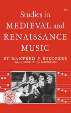 NEW Studies in Medieval and Renaissance Music (Norton Library (Paperback))