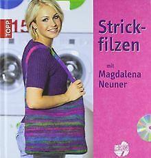 Strickfilzen mit Magdalena Neuner von Neuner, Magdalena | Buch | Zustand gut