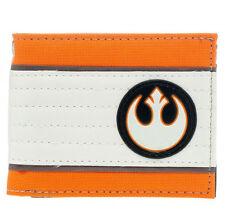 Star Wars Rebel Flight Suit Purse Rebel Alliance Symbol Bi-Fold Wallet for Geek