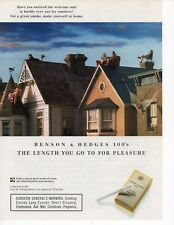Benson & Hedges Cigarettes vintage Print Ad August 1994
