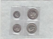 More details for 1944 george vi maundy four coin set in near mint condition.