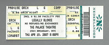 """Laura Bell Bundy """"LEGALLY BLONDE"""" Christian Borle 2007 Broadway Preview Ticket"""