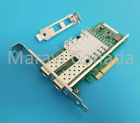 Genuine Intel X520-DA2 Dual Port 10GB SFP+ FC Network Adapter E10G42BTDA LP HP
