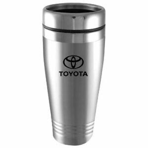 Toyota Stainless Steel Tumbler Vacuum Insulated Travel Coffee Mug - Silver