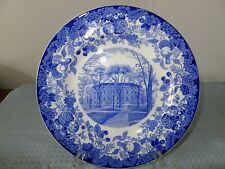 Harvard University Plate Harvard University Hall Wedgwood England
