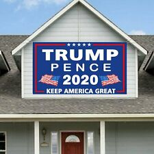 Trump Pence Banner Yard Sign Trump for President 2020 Keep America Great Flag