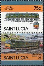 1954 BR Class EM2 (Class 77) Electra No.27000 Train Stamps / LOCO 100
