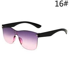 Women Frameless Candy Colors Lens Sunglasses Gradient Sun Glasses Lady Fashion