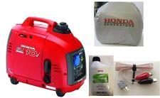 HONDA EU10i Paket GENERATOR INVERTER EU 10i STROMERZEUGER Benzin, 13 kg 1x230 V