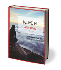 Believe In Your Vision E-book PDF Resell Rights Delivery 24hrs
