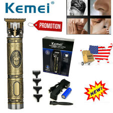 KEMEI Electric Pro Cordless Clipper Trimmer Wireless Hair Shavers 2020