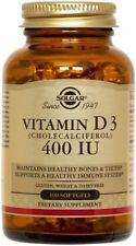Vitamin D3 400 IU Solgar 100 Softgel