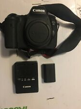 Canon EOS 6D 20.2 MP Digital SLR Camera - Black (Body Only) USED GREAT CONDITION