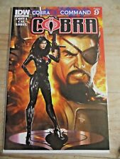 IDW Cobra #11 Cobra Command Part 9 Baroness on cover VF+