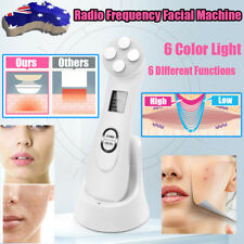 6 in 1 LED 6 Colors Photon Light RF Lifting Beauty Skin Rejuvenation Care Device