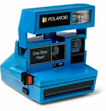 Polaroid Impossible Project Onestep 600 Camera Limited Edition Instant Blue