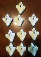 Vintage Ghosts Light Covers, Halloween,10 Each.