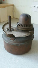 ANTIQUE  / VINTAGE BRASS / COPPER LANTERN / STORM LAMP - EARLY EXAMPLE