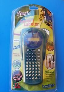 P-touch Gl100 Brother Electronic Labeling System W/ TZ Laminated Tape -NEW-
