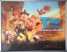 Cinema Poster: TAD THE LOST EXPLORER THE SECRET OF KING MIDAS 2017 (Ad Quad)