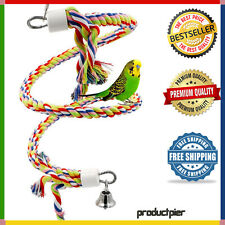 Bird Toys Small or Medium Parrot Rope Bungee Climbing Chewing Play Cage Toy 46""