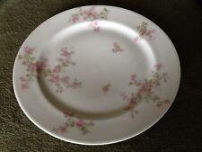 New listing Haviland France Limoges Dinner Plate 9-3/4 in Wild Rose Bush Vintage