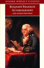 The Autobiography of Benjamin Franklin a paperback book FREE SHIPPING