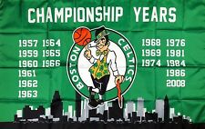 New listing Boston Celtics Nba Championship Flag 3x5 ft Green Sports Banner Man-Cave Garage