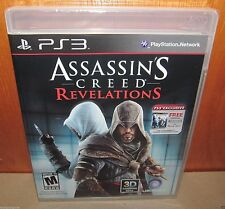 BRAND NEW SEALED Assassin's Creed Revelations w/ AC1 PS3 PlayStation 3 Ubisoft