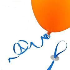 100 St. Luftballon Schnellverschlüsse ( BLAU ) Zeit sparend