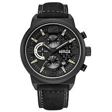 Baogela Men's Watches Quartz Movement Leather WatchBand Fashion Waterproof Watch