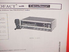 1978 ROYCE CB RADIO SERVICE SHOP MANUAL MODEL 1-625