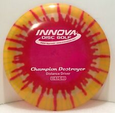 Disc Golf Disc Innova Champion Destroyer Tie Dyed 169g - New